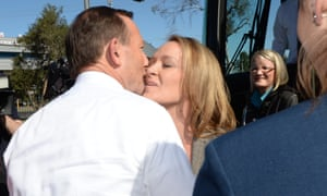 'Try and think of all the pictures showing Abbott kissing someone weirdly... '