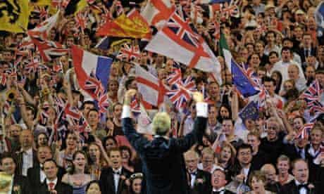 Last night of the Proms, 2005