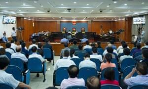 Bo Xilai courtroom