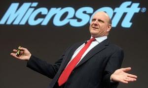 Microsoft CEO Steve Ballmer has announced he is to retire