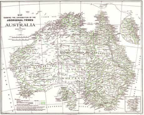 Indigenous map 1940