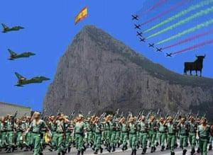 Gibraltar Facebook mock-up