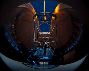 A Month in Space: Gemini South telescope during laser operations with GeMS/GSAOI