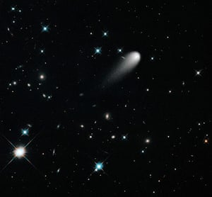 A Month in Space: the sun-approaching Comet Ison