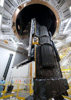 A Month in Space: Alphasat satellite