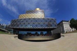 Birmingham Library: The outdoor amphitheatre at Centenary Square