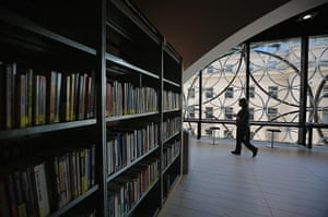 Birmingham Library: An interior view