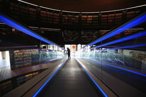 Birmingham Library: The building officially opens on 3 September