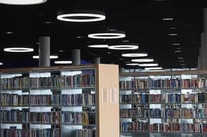 Birmingham Library: The library's ten floors will house the city's internationally important co