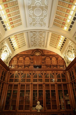 Birmingham Library: The Shakespeare Memorial Room, which has been moved form the old central Li