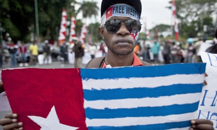 Papuan Students Alliance march