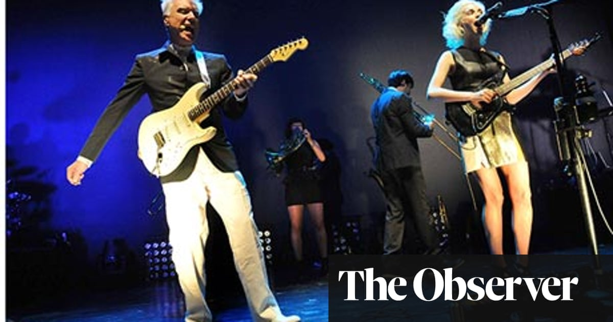 David Byrne and St Vincent – review   Music   The Guardian