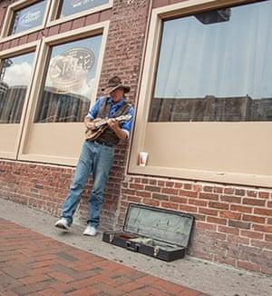 A Nashville musician