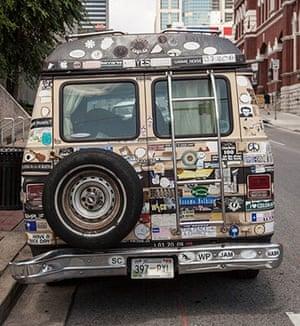 A Nashville campervan.