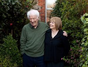 Seamus Heaney: Seamus Heaney, with his wife Marie Devlin, at their home in Dublin.