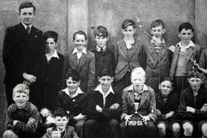 Seamus Heaney: Seamus Heaney school photograph