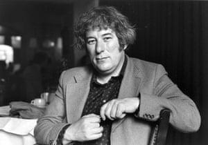 Seamus Heaney: Seamus Heaney, in an undated photograph