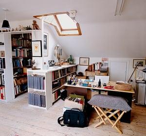 Seamus Heaney: Seamus Heaney's writing room
