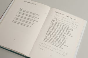 Seamus Heaney: Seamus Heaney's annotated copy of Death of a Naturalist