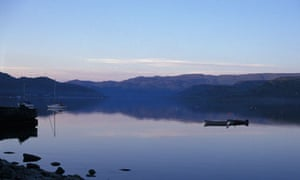 the Kyles of Bute in western Scotland
