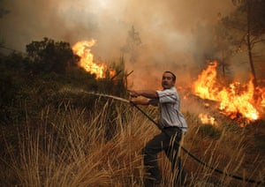 Wildfires in Portugal - 29 Aug 2013