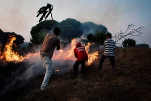 Wildfires in Portugal: The first wildfire of summer in Portugal