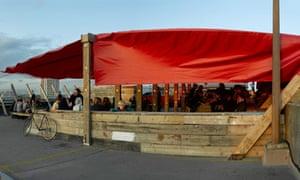 Franks Cafe and Campari Bar, Peckham.