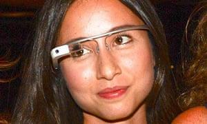 Amanda Rosenberg: yeah, the Google Glasses aren't great.