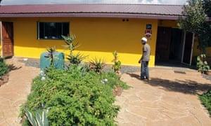 The Parkinson home in Kenya.