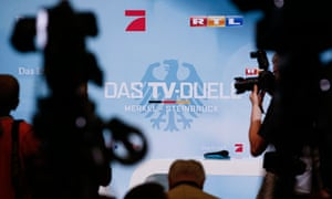 German election tv debate