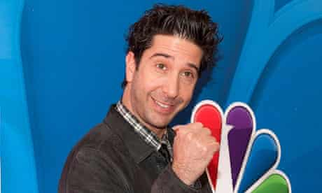 David Schwimmer: he is definitely not cool, any way you look at him.
