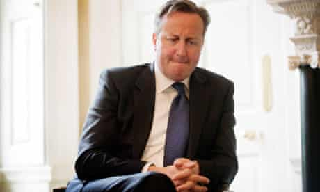MDG : David Cameron