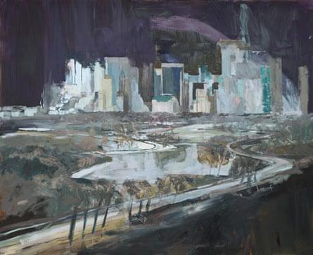 'Where Rock Hudson Lived', 2013, by David Dawson.