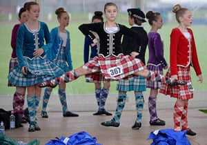 The Annual Cowal Highland Games: warm-up