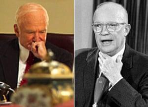 The Butler presidents: Robin Williams as Eisenhower