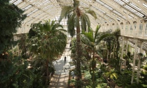 Kew Gardens is spending over £34M in refurbishing world's largest Victorian glasshouse which opened to the public in 1863 and is grade I listed. The extensive maintenance programme will involve the removal, cleaning or replacing of all of the building's 100,000 glass panes.