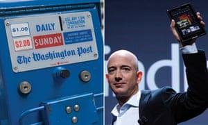 Washington Post and Jeff Bezos composite