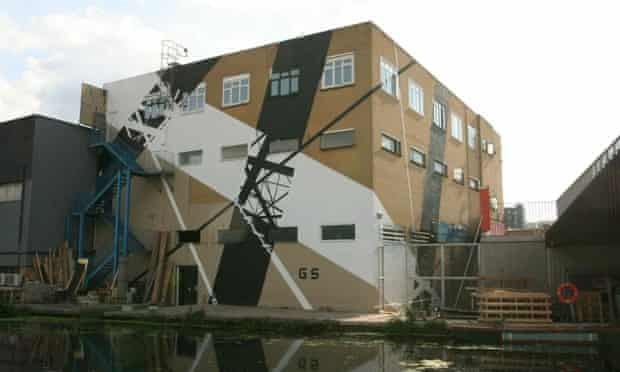 One of the new murals commissioned by the Legacy List, by Dutch collective Graphic Surgery