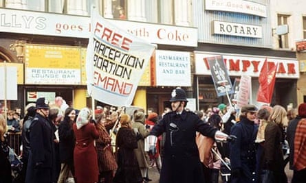 A Women's Liberation and Gay Liberation Front demonstration in London in 1971