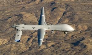 A US air force MQ-1 Predator unmanned aerial vehicle