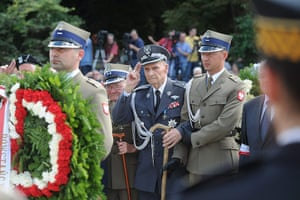 Warsaw Uprising: President of the Board of Uprising Insurgents general