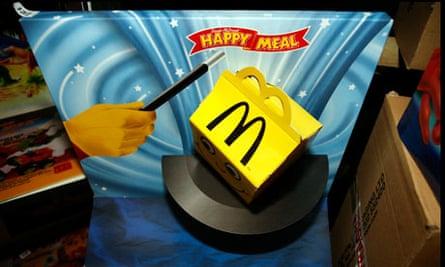 McDonald's happy meals box