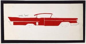 Andy Warhol: Car, 1950s
