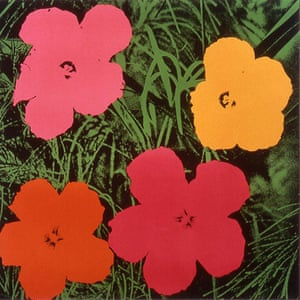 Andy Warhol: Flowers, 1964