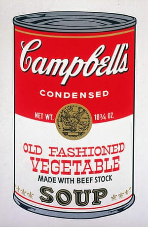 Andy Warhol: Campbell's Soup II , 1969