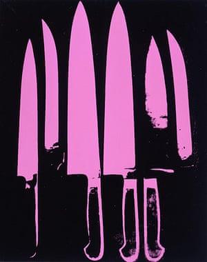Andy Warhol: Knives, 1981-82