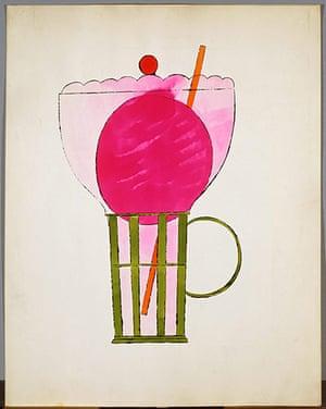 Andy Warhol: Ice Cream, Ca. 1959