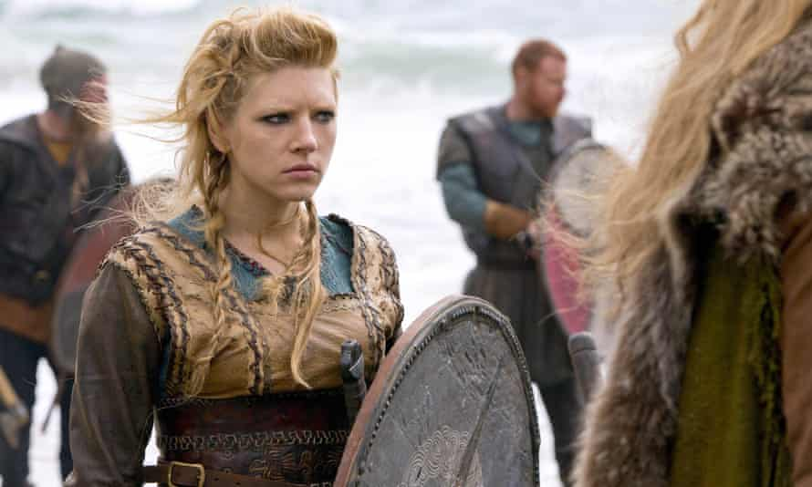 Katheryn Winnick in Vikings.