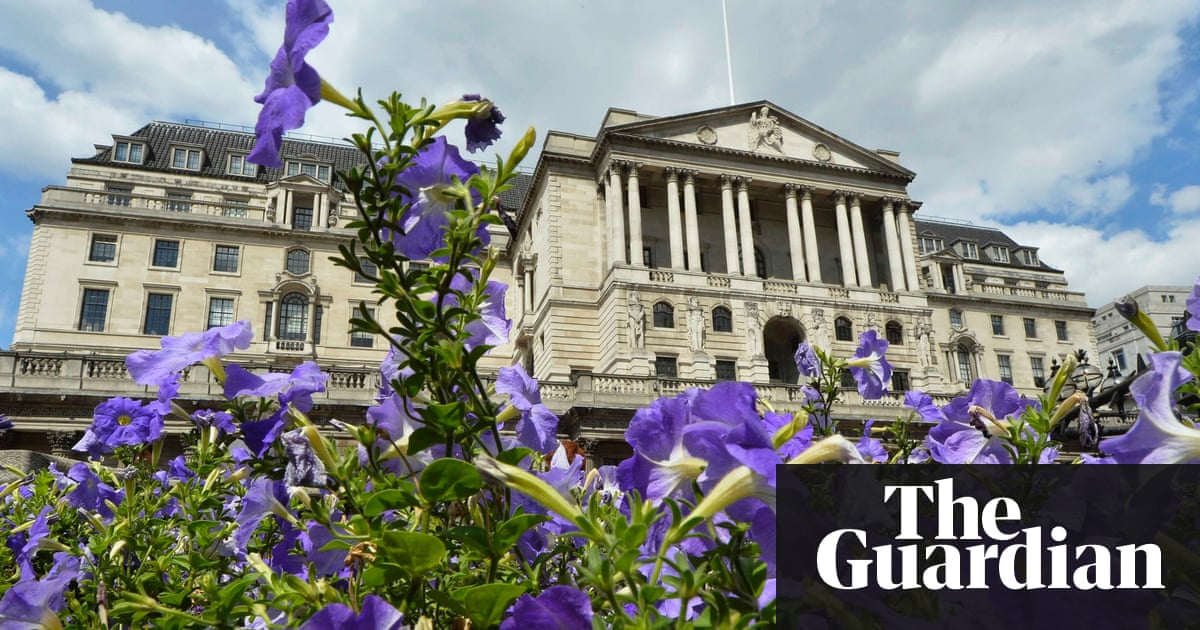 Flowers Bloom In Front Of The Bank England City London August 6