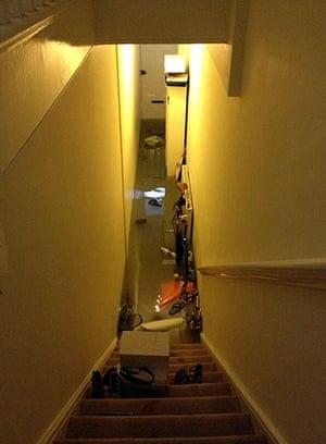 Herne Hill flood: Flooded hallway in Herne Hill